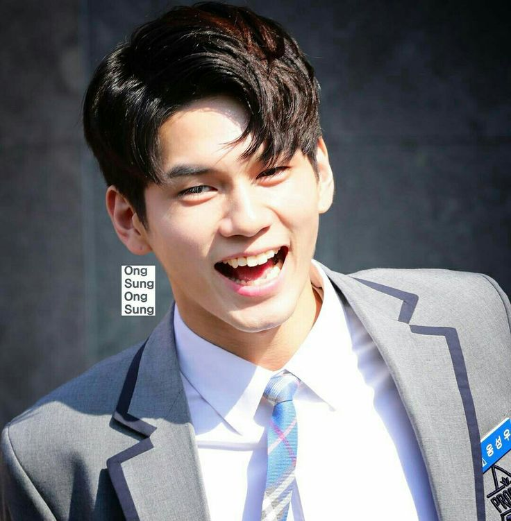 Ong Seongwoo (at the Produce 101 Center)