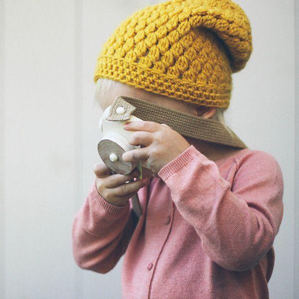Holzspielzeug - Holzspielzeug Kamera White Pixie von TwigCreative - ein Designerstück von petit_mouton bei DaWanda