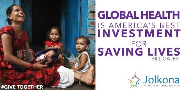 Read more about Jolkona's #GiveTogether campaign to raise money for global health projects in August: http://ow.ly/o4V0Y