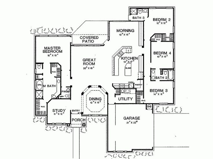73 best images about house plans on pinterest house for Eplans floor plans