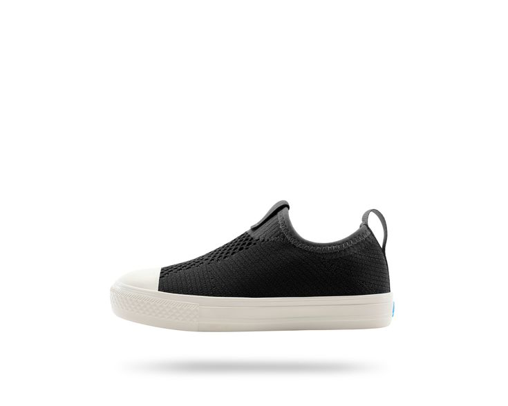 #ThePhillipsKnitKIDS in Really Black / Picket White. #PeopleFootwear