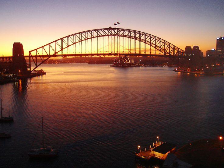 Sydney sunrise.