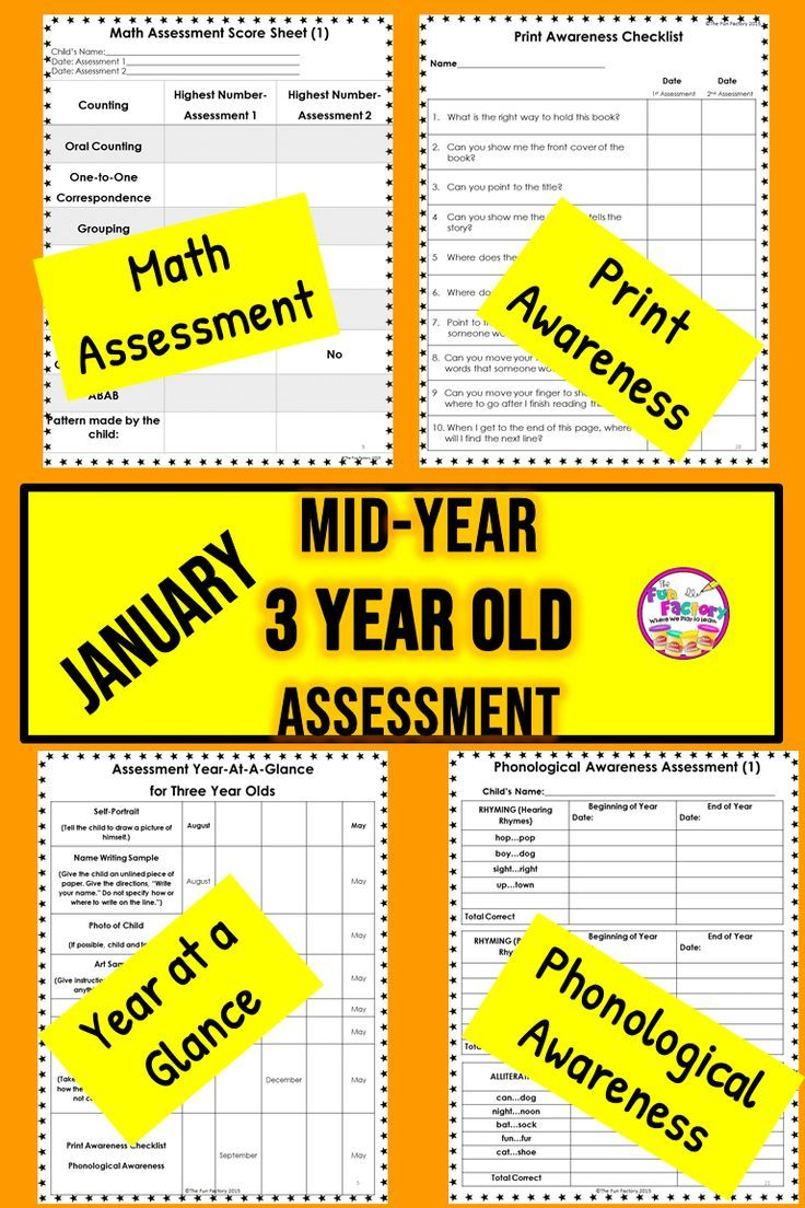 This Assessment For Preschool Children Three Years Of Age Will Help You Know What They Know The Assessment Preschool Assessment Math Assessment Preschool Kids