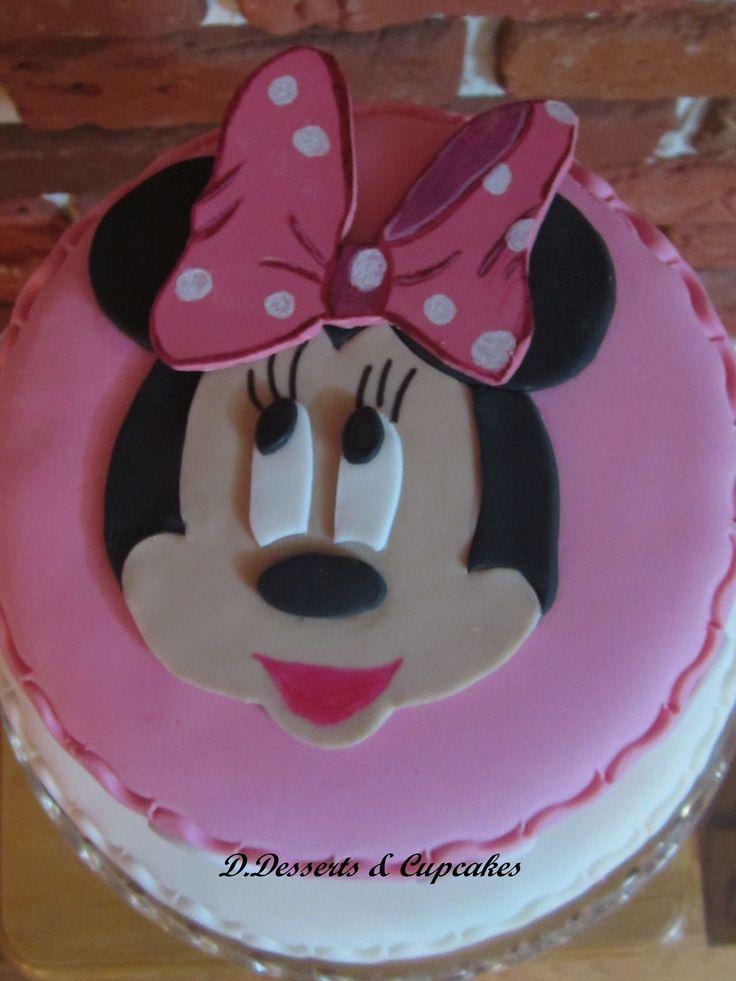 Handmade 2D Minnie Mouse