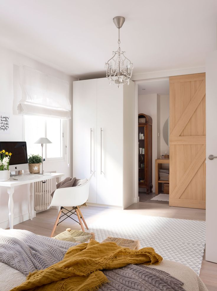 Las 25 mejores ideas sobre puertas de granero en for Puertas dormitorio