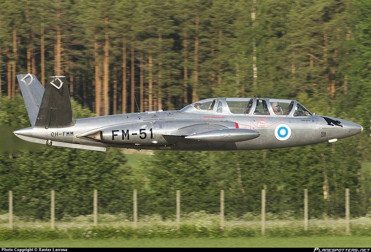 Finnish Air Force Fouga Magister