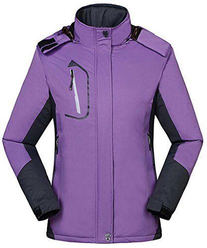 FYI: Wantdo Femme Anorak Veste de Ski avec Polaire Coupe-pluie Coupe-vent Imperméable Anorak Hiver: Catégorie: Veste de sport /veste d'…