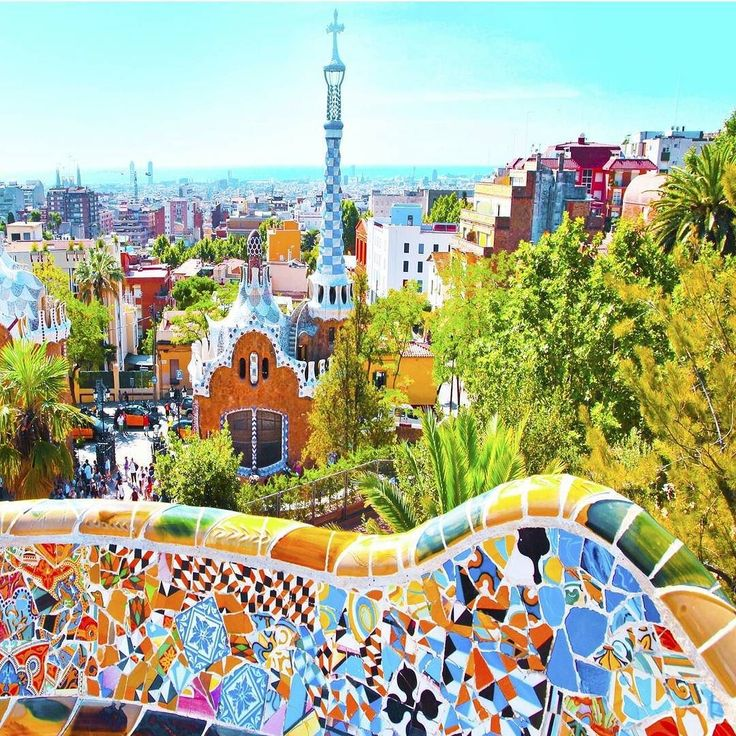 """usatoday: """"#Barcelona Seville Costa del Sol Benidorm and the Canary Islands make up No. 8 of our affordable #12daysofgetaways for this winter. All make great off-season destinations in #Spain since the weather is warmer than most of Europe staying between the 50s and the 70s depending on where you go. #warm #wintervacation Getty Images http://usat.ly/1lTTfyT via @usatodaytravel #parcguell"""""""