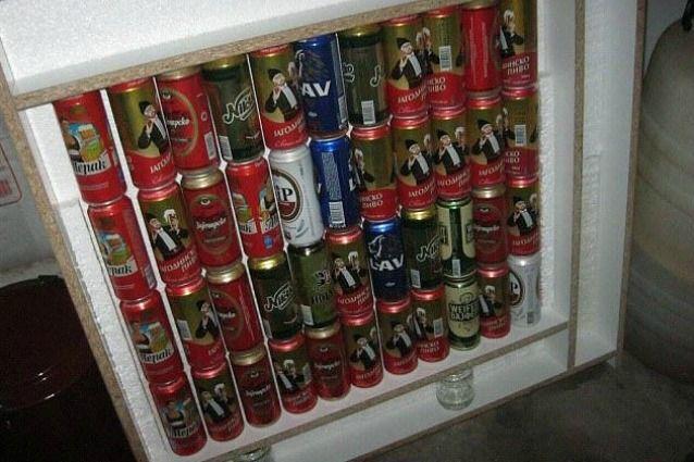 Come riscaldare casa con 44 lattine di birra