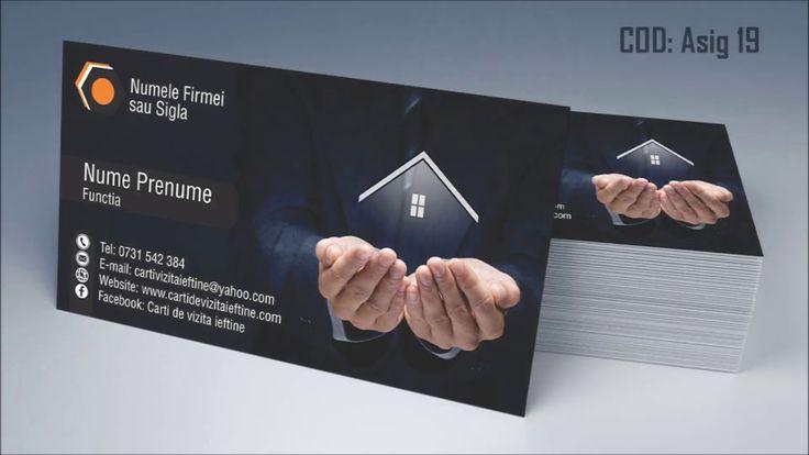 Carti de vizita asigurari rca casco broker   CDVI