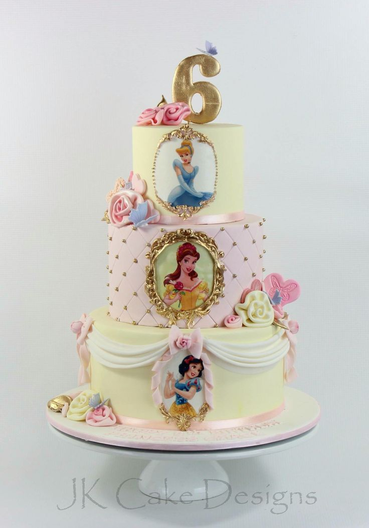 disney princess cakes disney cakes princess birthday 5th birthday ...