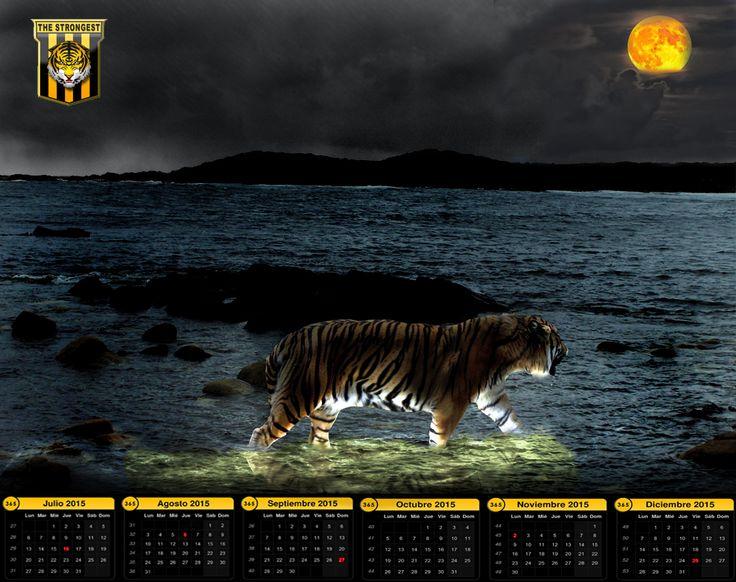 Calendario Tigre The Strongest segundo semestre 2015
