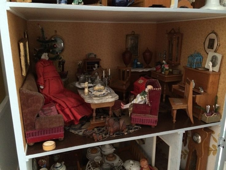 A room in one of my dolls houses... Lots of Schneegass furniture