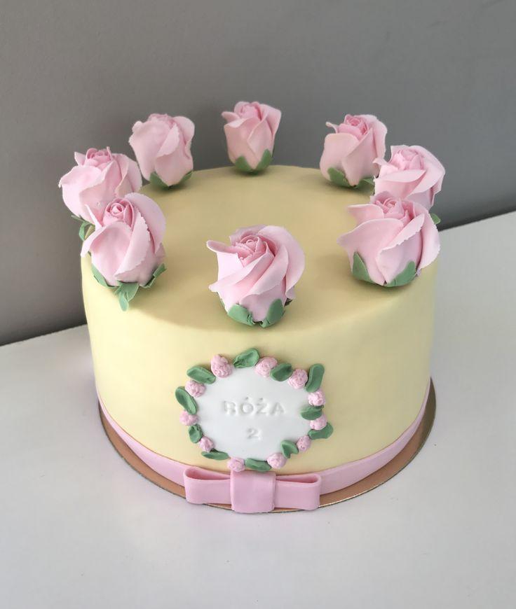 #rose #cake