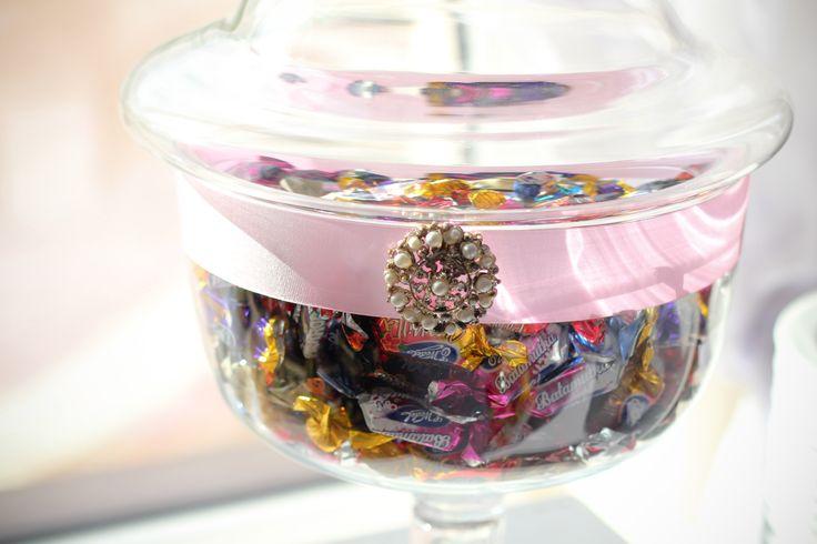 Realizacja candy baru | www.slubnawzorcownia.blogspot.com