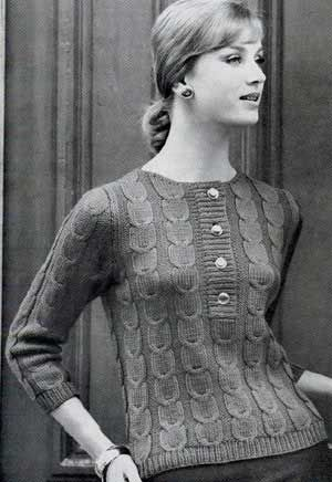 24 Best Vintage Knits Images On Pinterest Vintage Knitting Knit
