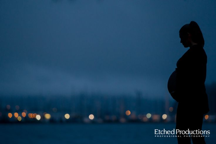 Dusk Maternity Session in Nanaimo