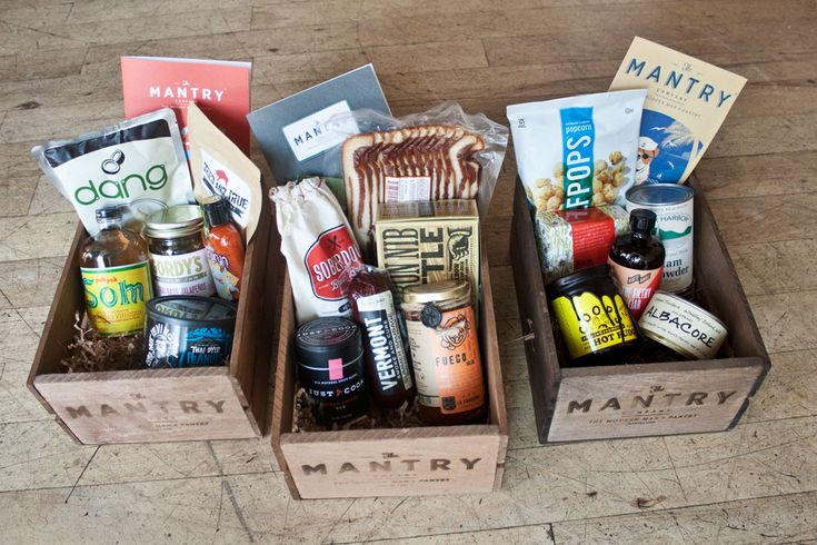 #1 Food Gift for Men - 3 month subscription from The Mantry