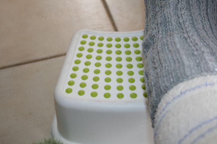 Astuce jambe cassée