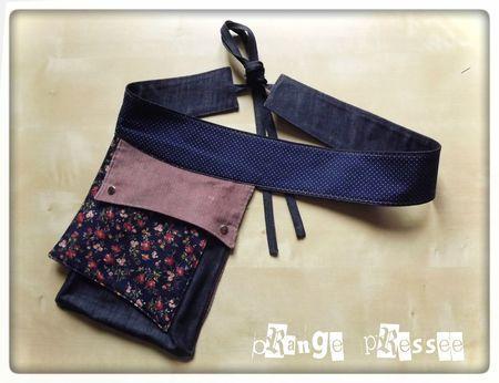 loottuuss, soort fanny pack, maar dan veel leuker, handig ook voor over een jurk zonder zakken