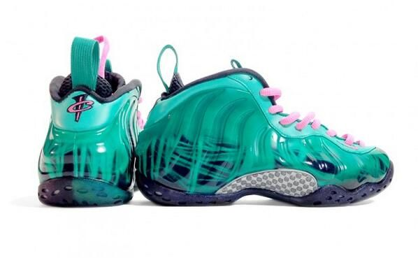 "Nike Air Foamposite One ""South Beach Doernbecher"" Custom http://nicek.is/1bf8HZu"