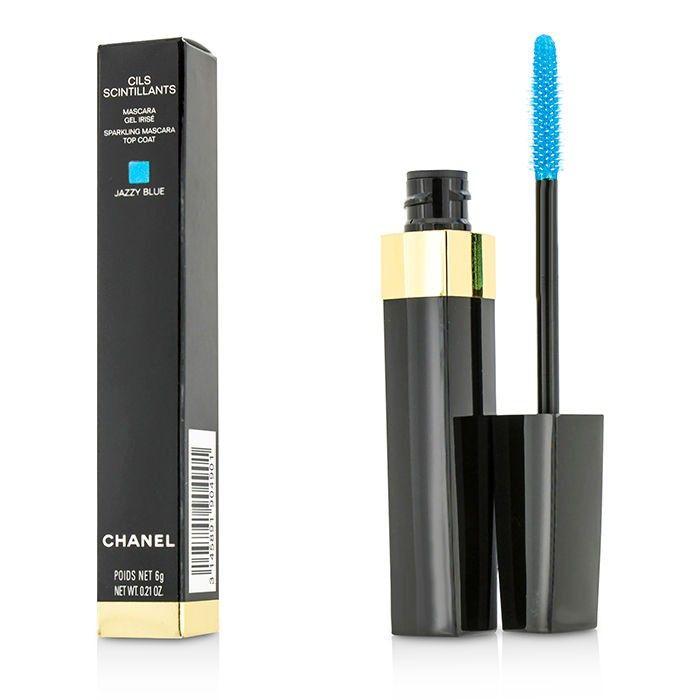 Chanel - Cils Scintillants Сияющее Верхнее Покрытие для Ресниц - Jazzy Blue 6ml/0.21oz