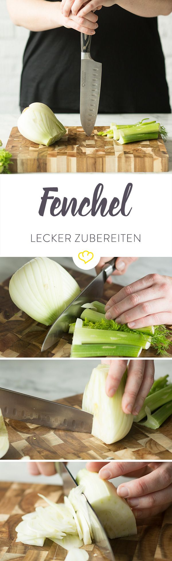 Du kennst Fenchel nur aus dem Teebeutel? Das sollte sich flott ändern - mit diesen Tipps landet er schon bald als schmackhafte Mahlzeit auf deinem Teller.