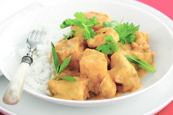 Impress+your+guests+with+this+creamy+Thai+chicken+and+pumpkin+curry.