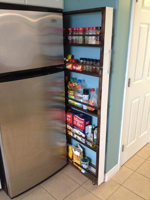 Best 25 Slide out pantry ideas on Pinterest Kitchen spice racks