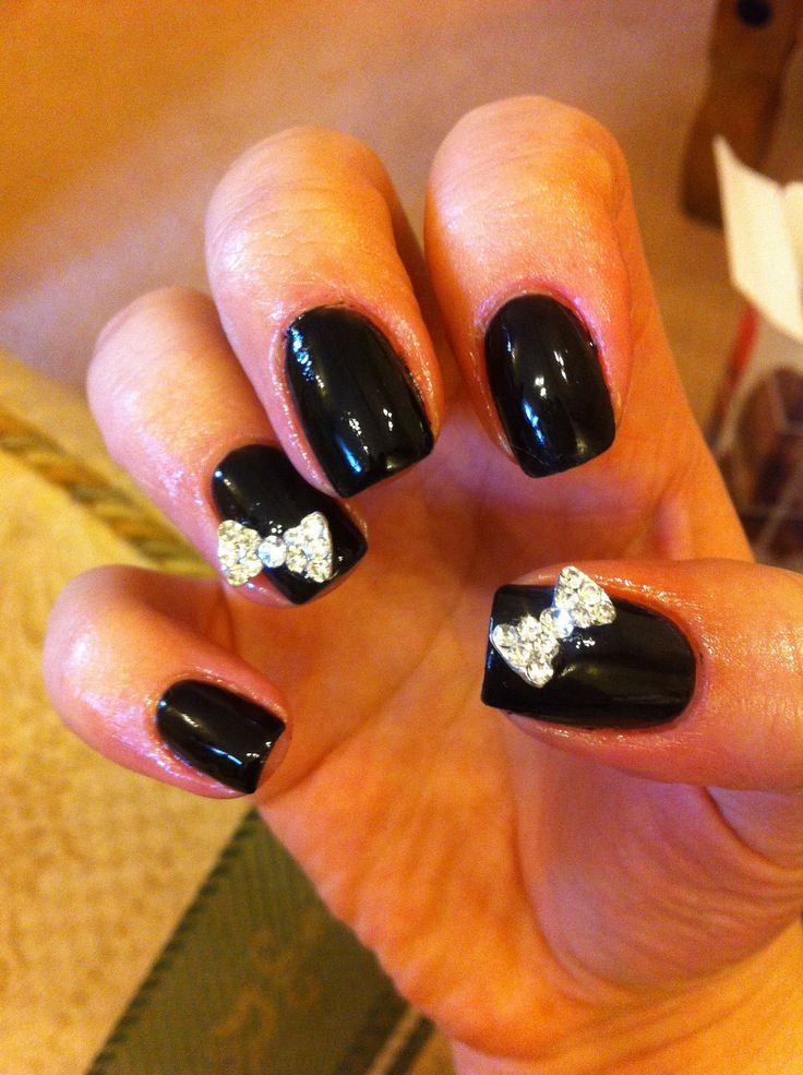 17 best Bow nails images on Pinterest | Fabulous nails, Gorgeous ...