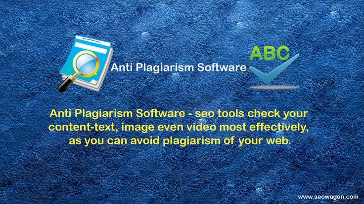 Best Plagiarism Checker - Anti Plagiarism Software
