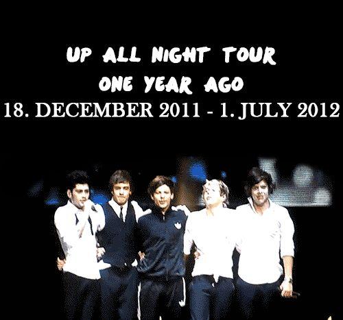 Happy Birthday Up All Night Tour! (gif)