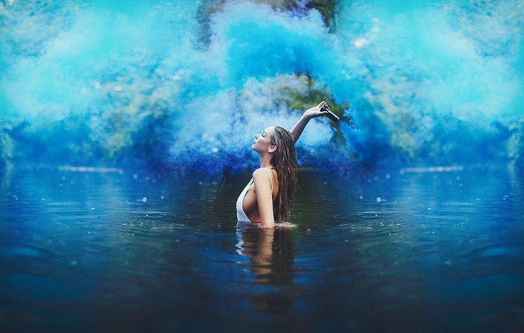 Deep blue. | por Amy Spanos