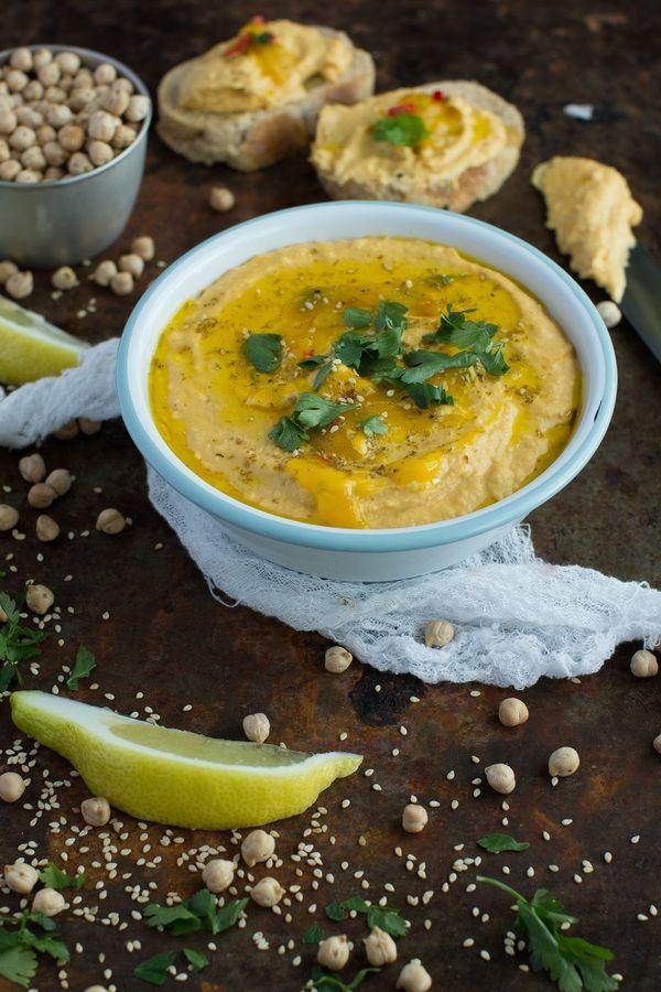 Hummus ze słodkim ziemniakiem