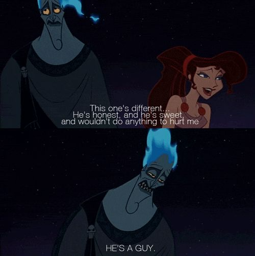 When your bestie starts gushing about her new crush...haha!  24 Disney Comebacks For Every Occasion