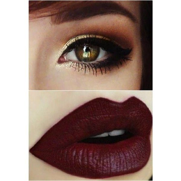 Dark Lips Perfect For Parties With Different Dark Color ❤ liked on Polyvore featuring beauty products, makeup, lip makeup, lipstick, eyes, beauty, dark lipstick, dark lip makeup, lips makeup and lips lipstick