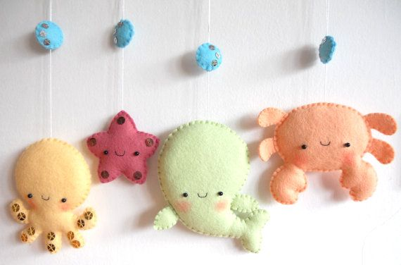 PDF pattern Four cute sea creatures octopus whale by iManuFatti I would put the whales face on a different spot