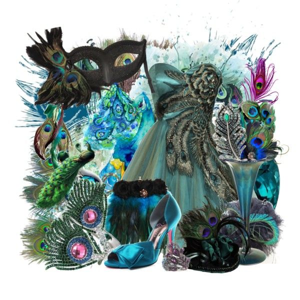 """""""Peacock Parade"""" by stacey-yecats on Polyvore"""