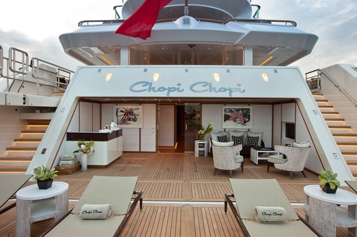 80m CRN mega yachts' chopi chopi a winner at 2014 world yacht trophy