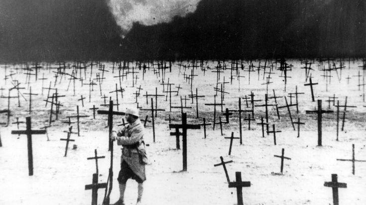 J'accuse d'Abel Gance, un monument du #cinéma pour les morts de la Première Guerre mondiale.