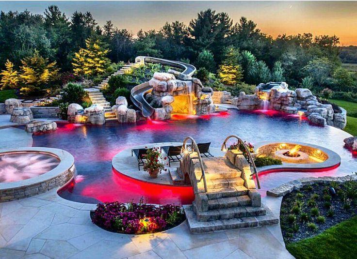 pin de memo carrasco en piscinas pinterest piscinas jardines con piscina y albercas. Black Bedroom Furniture Sets. Home Design Ideas