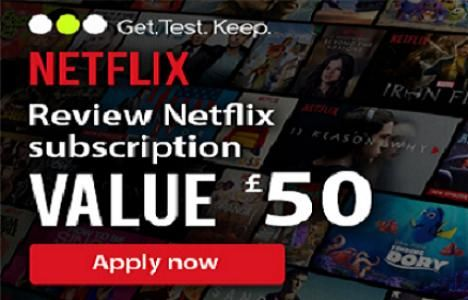 £50 Netflix Gift Card Free To Review A Netflix Subscription UK!