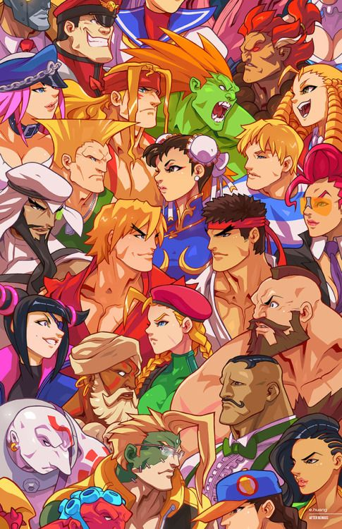 Street Fighter Homage to Bengus -   Edwin Huang