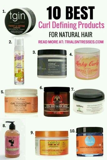 Good Curl Defining Products For Natural Hair