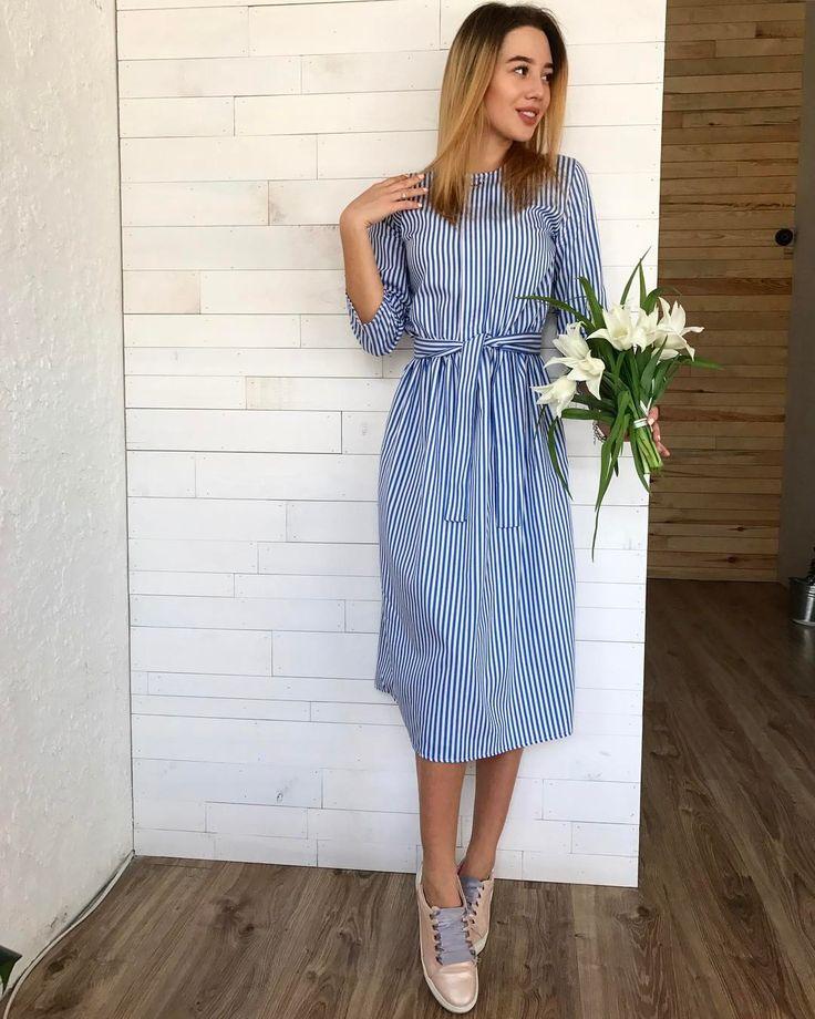 Инстаграм повседневное платье