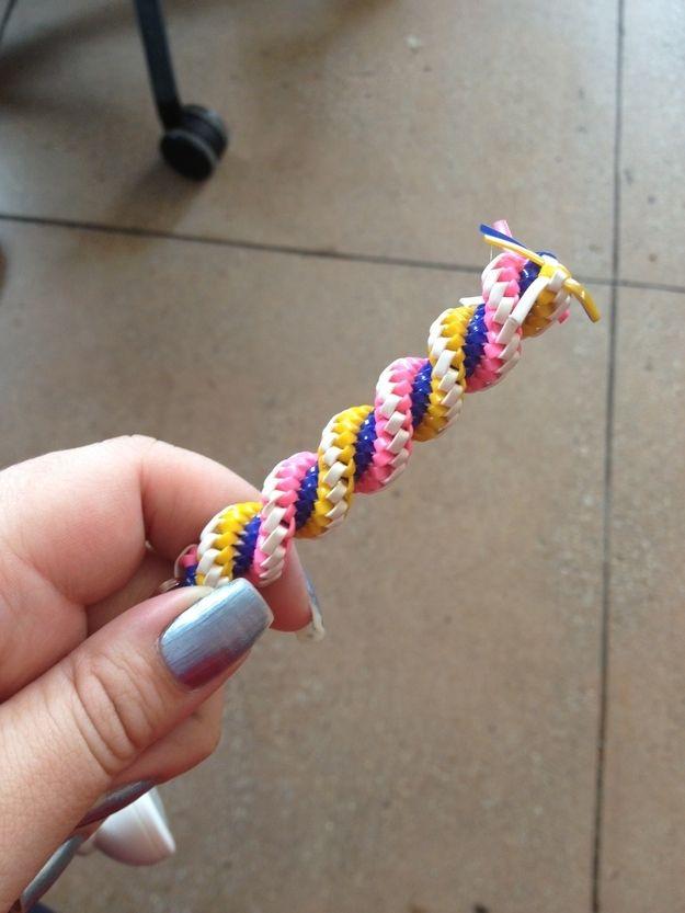 Lanyard Twist Stitch | 16 Crafts You Loved Making As AKid