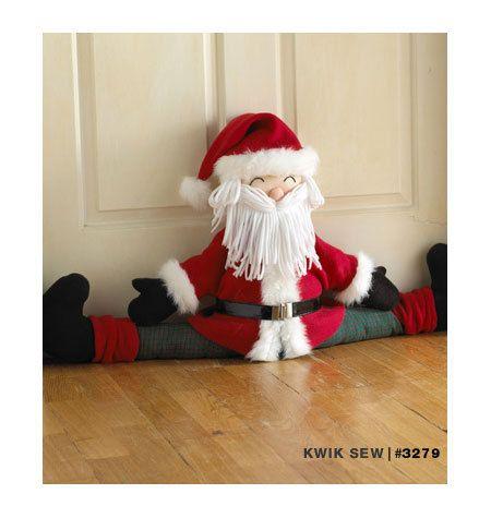 Kwik coser 3279 Snowman y Santa proyecto Stoppers por ucanmakethis