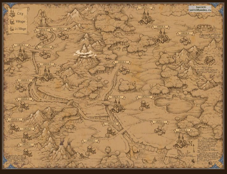 Map for game. by Jonik9i.deviantart.com on @deviantART