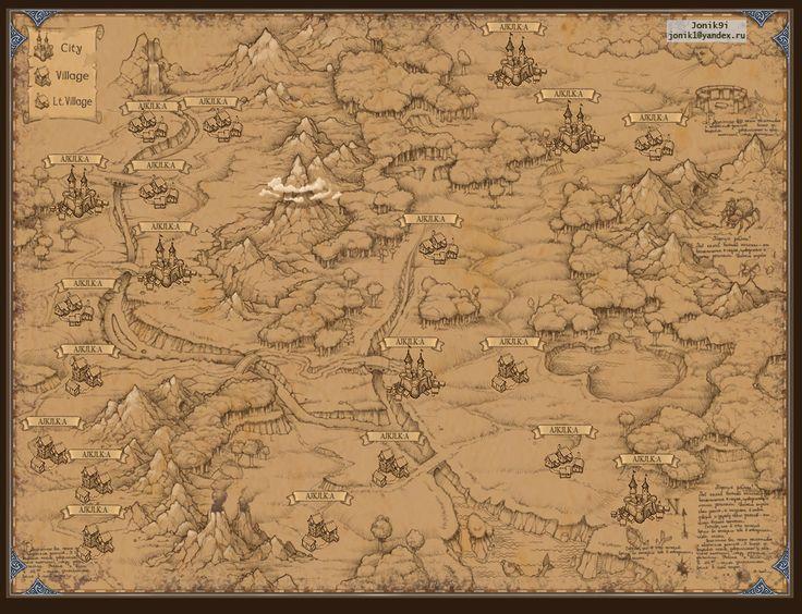 Map for game. by Jonik9i.deviantart.com on @deviantART