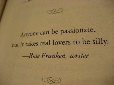 sometimes, it lasts in love...